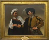 Caravaggio kabalista Obraz Royalty Free