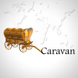 caravan Immagini Stock Libere da Diritti