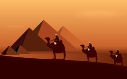 Caravan camels Royalty Free Stock Photography