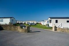 Caravan camp in Dorset. Stock Photography