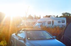 Caravan Camping Stock Images