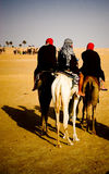 Caravan del deserto Fotografia Stock Libera da Diritti