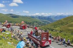Caravan di Banette - Tour de France 2014 Fotografia Stock