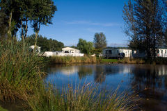 Caravan Holiday Park Royalty Free Stock Images