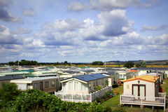 Caravan Holiday Park Stock Images