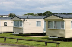 Caravan mobile homes Royalty Free Stock Photo