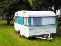 Caravan Park Royalty Free Stock Photo