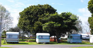 Caravan Park Royalty Free Stock Photos