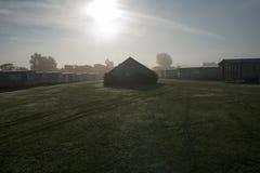 Caravan park. Bracklesham bay uk Royalty Free Stock Photography