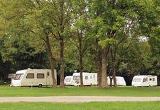 Caravan Park Camping Stock Photos