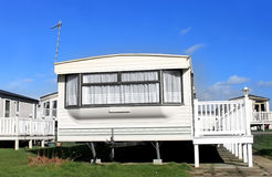 Caravan Park Royalty Free Stock Photography