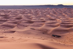 Caravan in Sahara desert Morocco Royalty Free Stock Photos