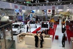 Caravan Salon Exhibition 2012 Stock Images
