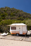 Caravan on Samos Royalty Free Stock Photo