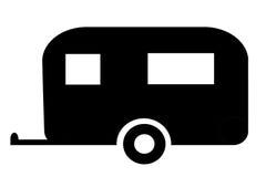 Caravan sign Royalty Free Stock Image