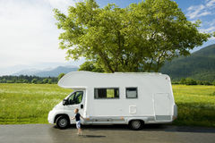 Caravana Imagem de Stock Royalty Free