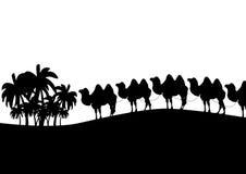Caravana ilustración del vector