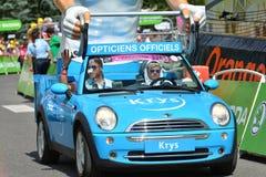 Caravana da publicidade, Tour de France 2017 fotos de stock royalty free