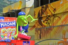Caravana da publicidade, Tour de France 2017 imagens de stock