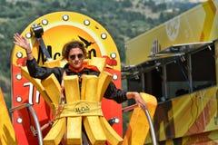 Caravana da publicidade, Tour de France 2017 Foto de Stock