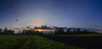 Caravana de la nube Imagenes de archivo