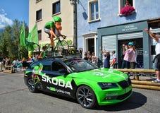 Caravana de la publicidad, Tour de France 2017 Fotos de archivo