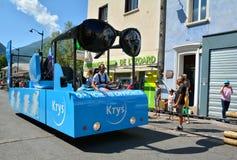 Caravana de la publicidad, Tour de France 2017 Imagenes de archivo