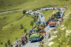 Caravana de Teisseire Foto de archivo