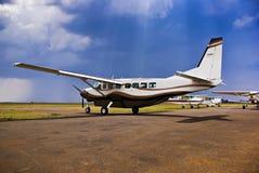 Caravana magnífica C-208B de Cessna Fotos de archivo