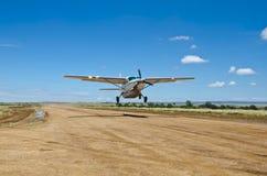Caravana magnífica de Cessna Imágenes de archivo libres de regalías