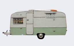 Caravana retro do estilo Foto de Stock Royalty Free