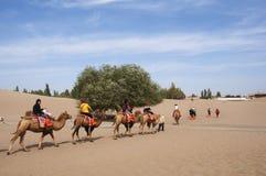 Caravana turística Imágenes de archivo libres de regalías