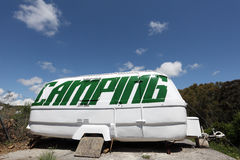 Caravana velha Imagem de Stock Royalty Free