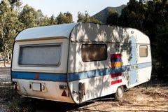 Caravana velha Foto de Stock Royalty Free