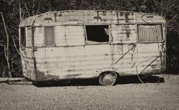 Caravana velha Foto de Stock