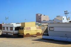Caravana velhas Fotografia de Stock Royalty Free