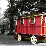 Caravane au château de Cawdor photos stock