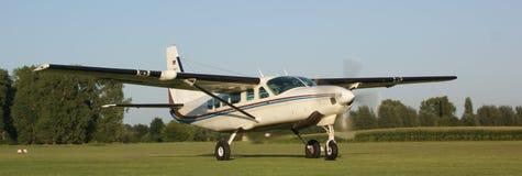 Caravane de Cessna Photos libres de droits