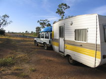 Caravane de désert Image libre de droits