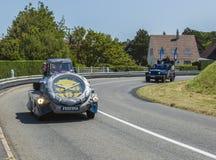 Caravane de Festina - Tour de France 2015 Photos libres de droits