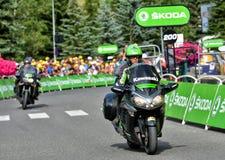 Caravane de publicité, Tour de France 2017 Photos stock