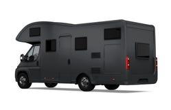 Caravane de rv d'isolement illustration de vecteur