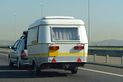 Caravane de véhicule images libres de droits