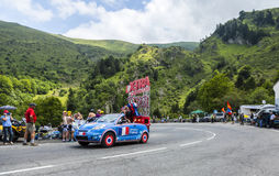 Caravane de X-TRA - Tour de France 2014 Photos libres de droits