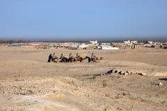 Caravane en Sahara Desert image libre de droits