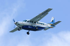 Caravane grande 208B de HS-KAB Cessna de Kanair Photo libre de droits
