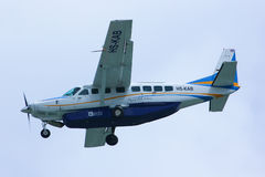 Caravane grande 208B de HS-KAB Cessna de Kanair Photographie stock