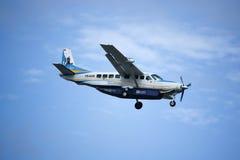 Caravane grande 208B de HS-KAB Cessna de Kanair Images libres de droits