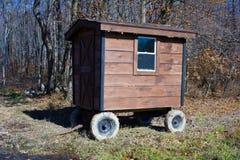 Caravane résidentielle photo stock