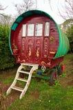 Caravane supérieure d'arc gitan traditionnel images stock